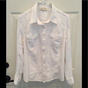 Jones New York Sport long sleeve blouse